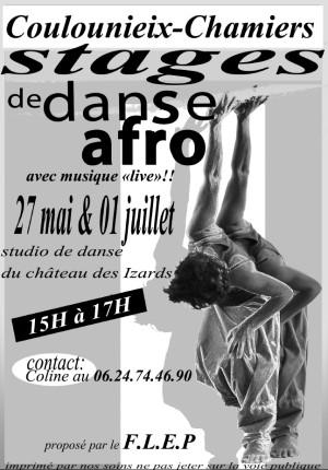 Stage danse Afro avec le Flep