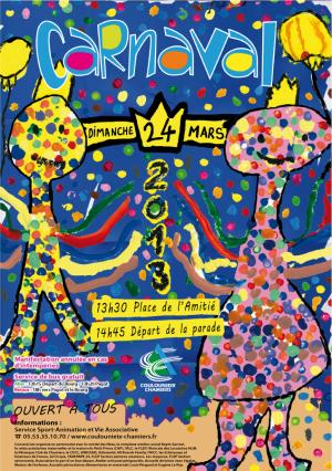 Venez fêter Carnaval à Coulounieix-Chamiers !