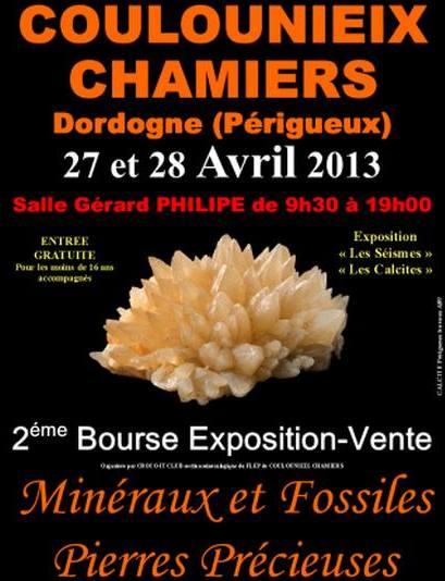 2ème Bourse exposition vente minéraux et fossiles