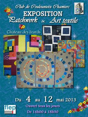 Exposition Patchwork du 4 au 12 mai