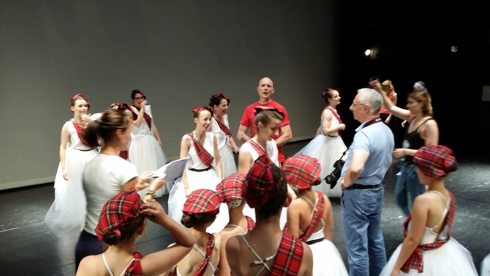 Portes ouvertes de l'école de danse du flep