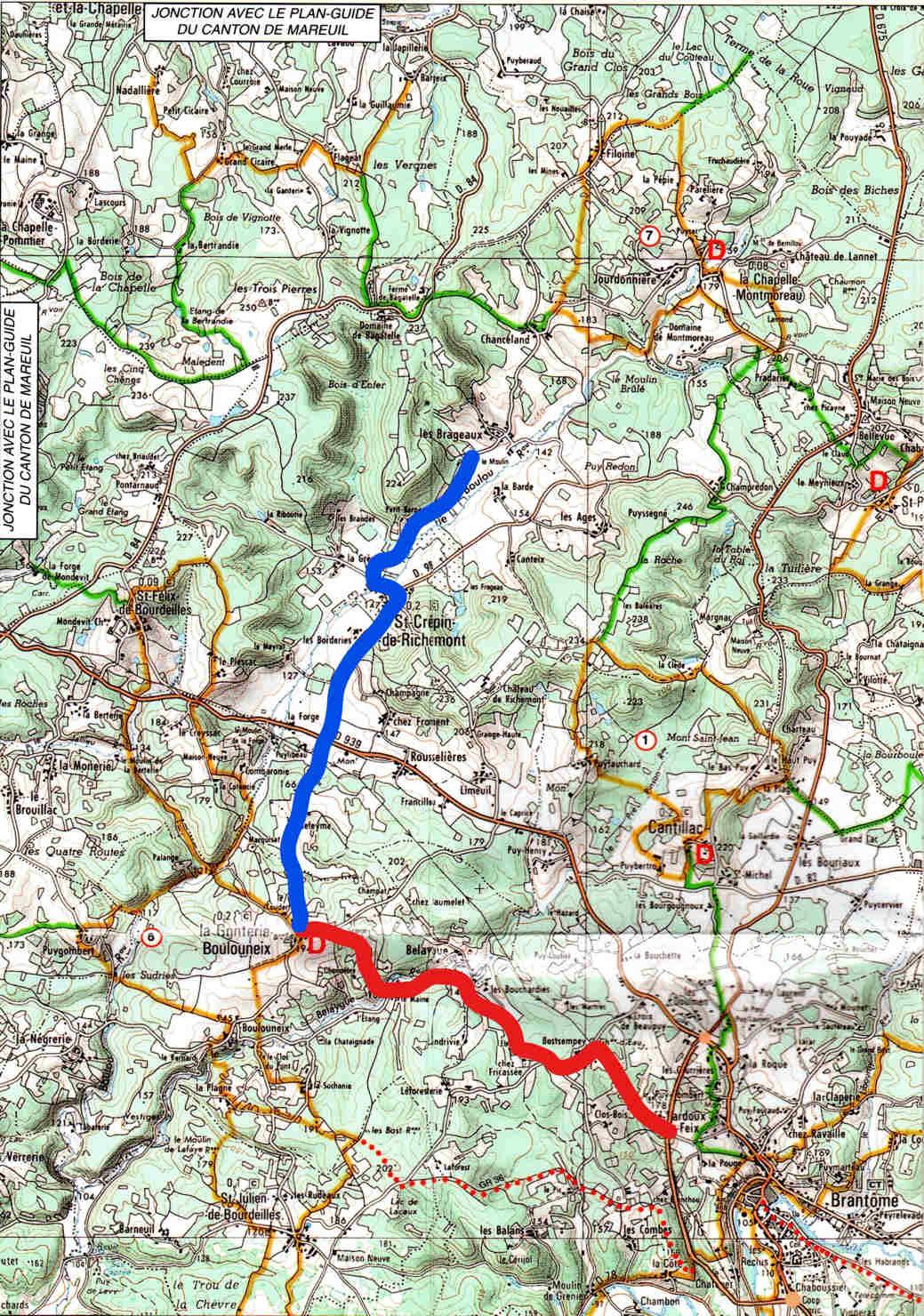 Prochaine randonnée à St Crépin de Richemont, en Périgord vert