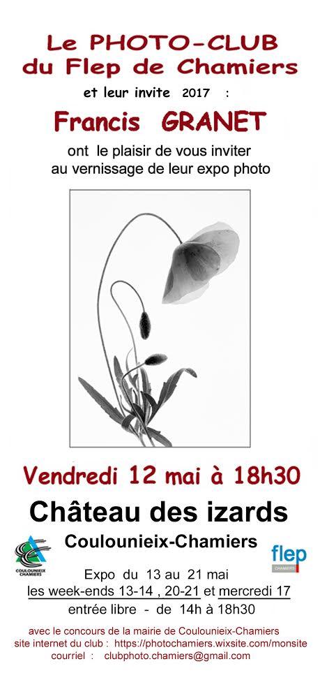 Affiche de l'exposition 2017 du Photoclub du Flep