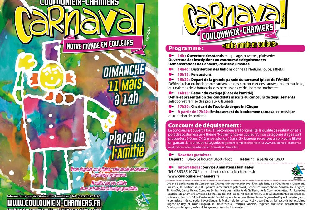 Carnaval à Coulounieix-Chamiers